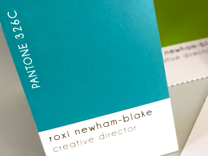 business cards & corporate identity
